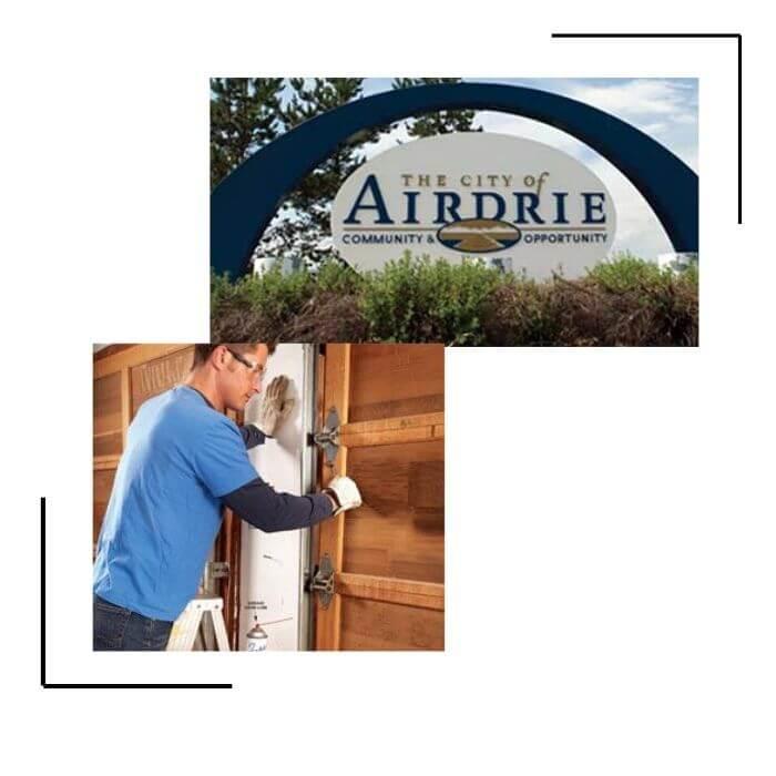 Airdrie garage door repair