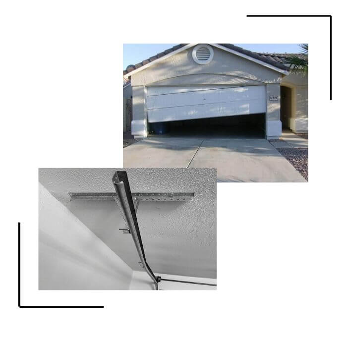 Garage door track repair Calgary