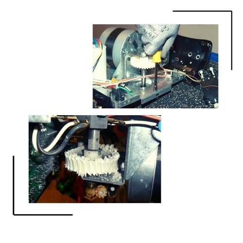 Gears Repair in a Garage Door Opener
