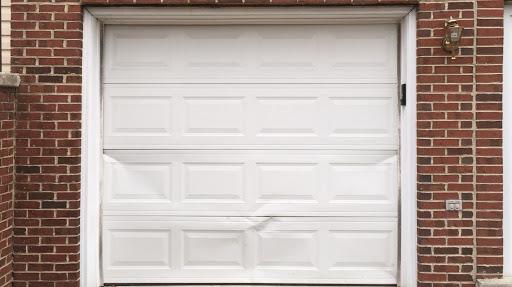 Bent garage door panel replacement Calgary